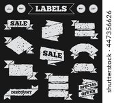 stickers  tags and banners with ...   Shutterstock .eps vector #447356626