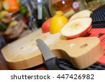 fruit board in a cocktail bar | Shutterstock . vector #447426982