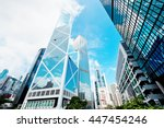 hong kong city | Shutterstock . vector #447454246