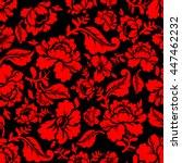 Red Rose Seamless Pattern....