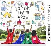 Summer Kids Camp Adventure Explore - Fine Art prints