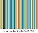 striped multicolored seamless... | Shutterstock .eps vector #447475852