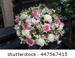 wedding ceremony  | Shutterstock . vector #447567415