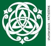 vector illustration of celtic... | Shutterstock .eps vector #44760046