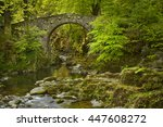 foley's bridge over the shimna... | Shutterstock . vector #447608272