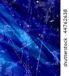 dark blue background with...   Shutterstock . vector #44762638
