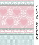 romantic soft color card | Shutterstock .eps vector #44763916