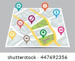 vector illustration of a city... | Shutterstock .eps vector #447692356