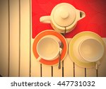 Tea Utensils. Black Tea Is...