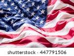 usa flag. american flag....   Shutterstock . vector #447791506