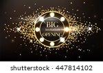 magic sparkling grand opening... | Shutterstock .eps vector #447814102