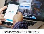 chiang mai  thailand   jul 3... | Shutterstock . vector #447818212