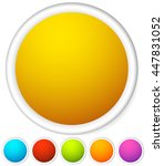 colorful rounded button...