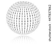 Binary Code In Sphere Form....