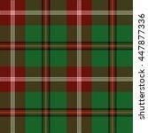 tartan seamless pattern. trendy ... | Shutterstock .eps vector #447877336