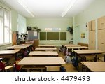 classroom is waiting pupils | Shutterstock . vector #4479493