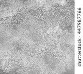 silver background foil texture | Shutterstock . vector #447987766