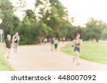 defocused  blurred motion... | Shutterstock . vector #448007092