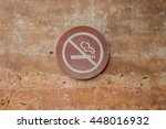 No Smoking Signage On The Wall