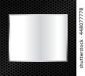 abstract metal texture... | Shutterstock .eps vector #448077778
