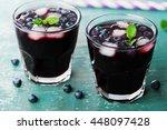 Blueberry Lemonade Or Cocktail...