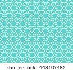 seamless geometric pattern of... | Shutterstock .eps vector #448109482