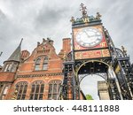 chester   may 20   eastgate... | Shutterstock . vector #448111888