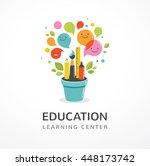 growing idea   education ... | Shutterstock .eps vector #448173742