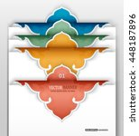 Set Of 4 3d Colorful Sticker...