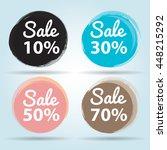 sale banner vector format | Shutterstock .eps vector #448215292