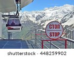 Cable Car Descends From The...