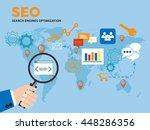 a men's hand holding a...   Shutterstock .eps vector #448286356