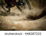 mountain bike  outdoor fun | Shutterstock . vector #448287232