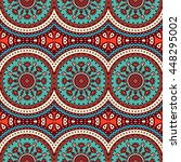 seamless pattern. vintage... | Shutterstock . vector #448295002
