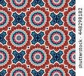seamless pattern. vintage...   Shutterstock . vector #448298182