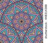 seamless pattern. vintage... | Shutterstock . vector #448314388