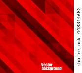 abstract red background ... | Shutterstock .eps vector #448314682