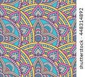 seamless pattern. vintage... | Shutterstock . vector #448314892