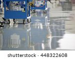 air pump equipment for epoxy... | Shutterstock . vector #448322608