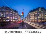 london nov 10 view of oxford... | Shutterstock . vector #448336612