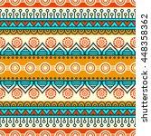 seamless pattern. vintage... | Shutterstock . vector #448358362