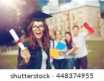 education  graduation and... | Shutterstock . vector #448374955