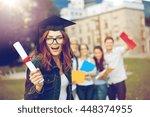 education  graduation and... | Shutterstock . vector #448374955