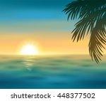 vector illustration of a... | Shutterstock .eps vector #448377502