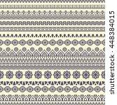 seamless pattern. vintage... | Shutterstock . vector #448384015