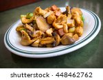 chinese food spicy kung pao... | Shutterstock . vector #448462762