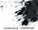 splatter splat background... | Shutterstock .eps vector #448489285