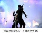 barcelona   jun 19  asap rocky  ... | Shutterstock . vector #448529515