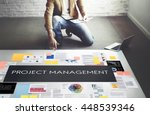project management organization ... | Shutterstock . vector #448539346