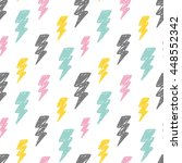 abstract thunder background | Shutterstock .eps vector #448552342